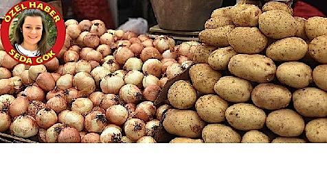 Üretim soğanda artacak, patateste azalacak